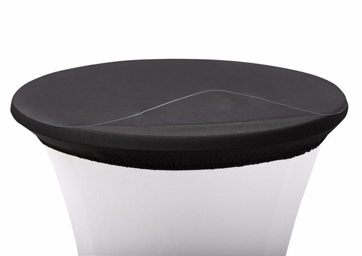 Schutzplatte für Stehtische Abdeckplatte aus Kunststoff PVC