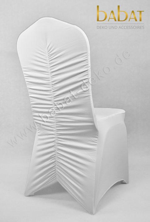 Stuhlhusse Stretch Fischbone (Verkauf)
